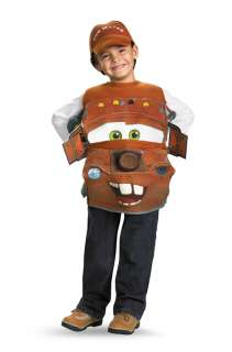 Disney Cars 2 Tow Mater Deluxe Child Costume for Halloween   Pure
