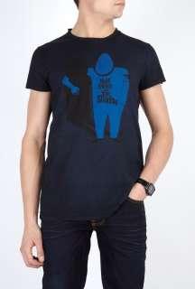 Nudie Jeans  Indigo Friendly Shadow T Shirt by Nudie Jeans