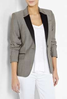 Paul Smith Black  Taupe Rivere One Button Blazer by Paul Smith Black