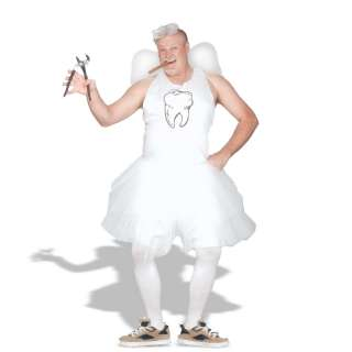 Tooth Fairy Plus Adult Costume   Costume includes imprinted tank top