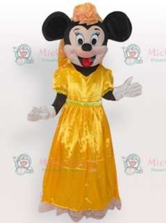 Micky Short Plush Adult Mascot Costume for Sale