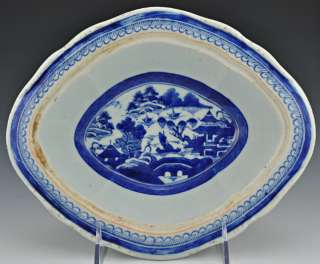 Canton Chinese Hand Painted Antique Vegetable Bowls
