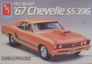Amt Ertl Pro Street 67 Chevelle SS 396 Model Car