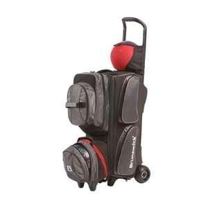 PPO 3 4 5 Option Roller Charcoal / Black Bowling Bag