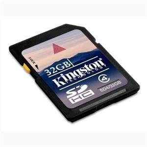 NEW 32GB SDHC Class 4 Flash Card (Flash Memory & Readers