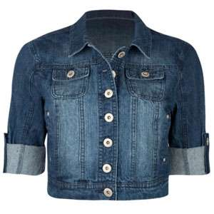 HIGHWAY Short Sleeve Womens Denim Jacket 183049827  jackets