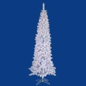 54 Artificial Pencil Christmas Tree in White