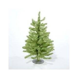 Silver Retro Tinsel Table Top Christmas Tree   Unlit