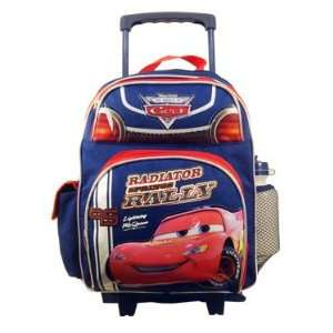 Cars Lightning McQueen Toddler Rolling Luggage Backpack Toys & Games