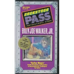 Backstage Pass Instructional Video Billy Joe Walker, Jr