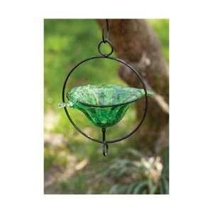 Glass Birdbath Popular High Quality Practical Patio, Lawn & Garden