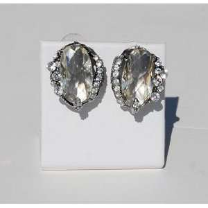 Crystal Rhinestone Earrings   Kikis Crystals