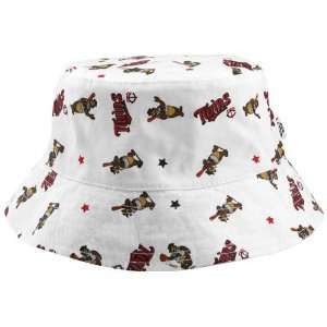Era Minnesota Twins Infant White Baby Bucket Hat