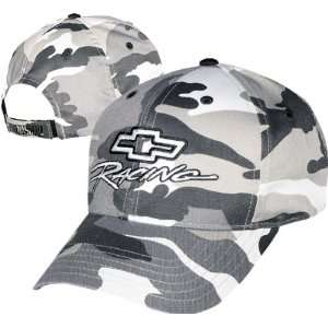 Chevy Racing Camo Adjustable Hat: Sports & Outdoors