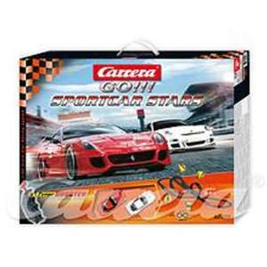 Carrera GO 1/43 Analog Slot Car Race Track Sets   Sportscar Stars