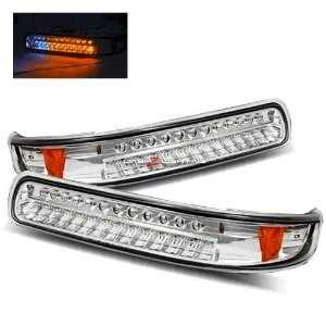 00 06 Chevy Tahoe LED Bumper Lights   Chrome Automotive