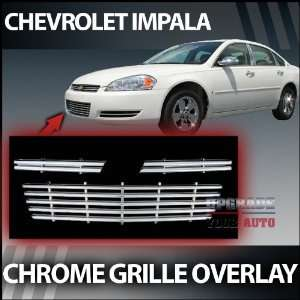2006 2011 Chevy Impala Chrome Grille Factory Style