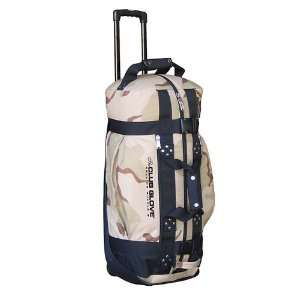 New Club Glove Rolling Duffle Travel Bag Camo Sports