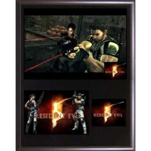 Resident Evil 5 Collectible Plaque Series w/ Card #7