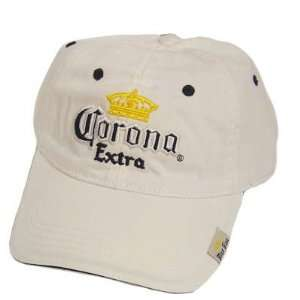 OFFICIAL CORONA EXTRA BEER BASEBALL HAT CAP WHITE Sports