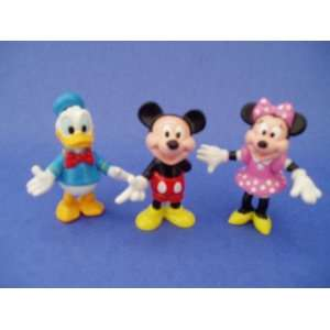 Disneys Mickey Mouse, Minnie Mouse & Donald Duck Figurine