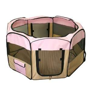 New Dog Pet Puppy 48 Soft Playpen Exercise Pen Kennel Crate Home