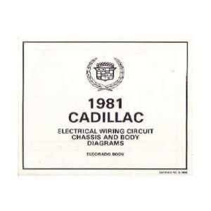 1981 CADILLAC ELDORADO SEVILLE Wiring Diagrams Automotive
