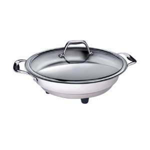 CucinaPro 16 Classic Polished Electric Skillet 1454: