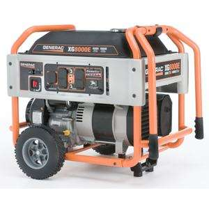 OHV Gas Powered Portable Generator With Wheel Kit And Electric Start