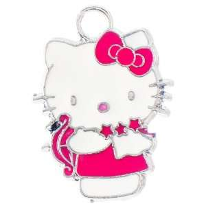 12X DIY Jewelry Making Hello Kitty archer enamel charm