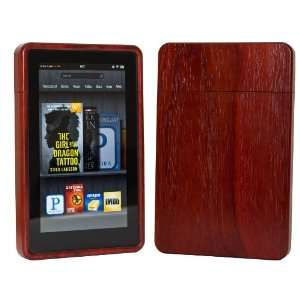 Wood Kindle Fire Case Exotic Padauk Electronics