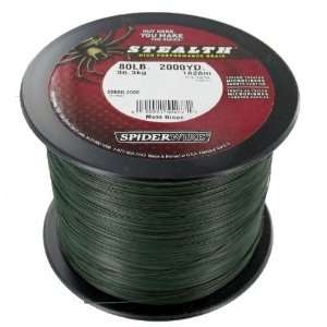 Stealth Spectra PRO fishing line 80lb 2000YD Sports & Outdoors