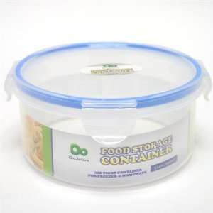 Round Food Storage Container with Click Lock Lid Case Pack
