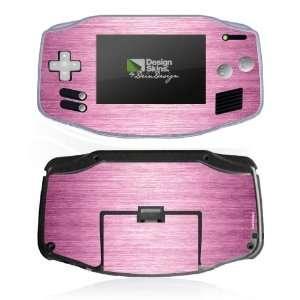Design Skins for Nintendo Game Boy Advance   Shiny Metal