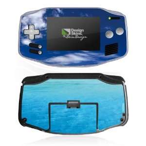 Design Skins for Nintendo Game Boy Advance   Blue Sailing