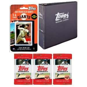 San Francisco Giants 2009 Topps MLB Team Set with 3 Ring