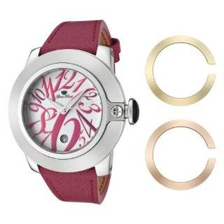 Glam Rock Womens GR32081 SoBe White Dial with Multi Colored Numerals