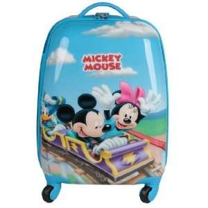 Disney Mickey Minnie Child Kid Travel Luggage Bag Handbag