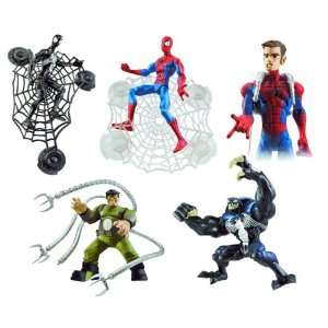 Spider Man Animated Action Figures (Hasbro) Case of 12 Toys & Games