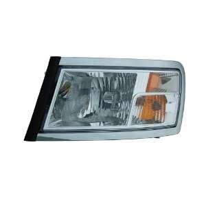 Headlight Oe Style Headlamp Left Driver Side Without Black Bezel