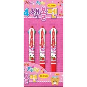 Hello Kitty Sanrio Bows Multi Colored 4 in 1 Pen