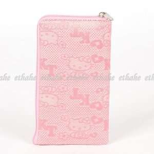Hello Kitty Plain Mobile Cell Phone Bag Pink Cell Phones