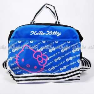 Hello Kitty Handbag Tote Sling Messenger Bag Blue