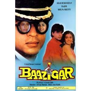 Baazigar (1993) (Hindi Thriller Film / Bollywood Movie / Indian