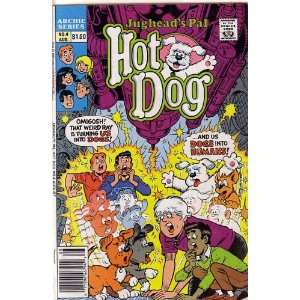Jugheads Pal Hot Dog #4 (Archie Series Comic Book