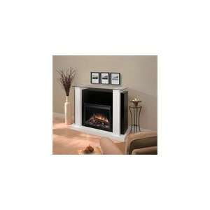 Dimplex Bella Electric Fireplace Indoor Contemporary   White EMP6856GB