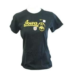 Iowa Hawkeyes 2010 Orange Bowl Bound Womens Short Sleeve T shirt