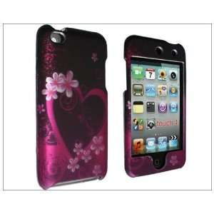 Hard Front Back Case Cover for iPod Touch iTouch 4 4th Gen 4G purple