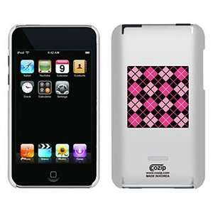 Argyle Pretty in Pink on iPod Touch 2G 3G CoZip Case