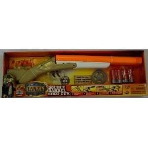 Lawman Double Barrel Shot Gun with Sound Toys & Games
